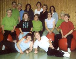 Gymnastik Frauen, Freitags-Gruppe
