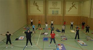 Gymnastik Frauen, Montags-Gruppe